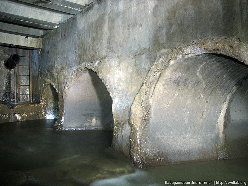 В Минске ливневый коллектор Слепянка возведён под самой рекой Слепянка